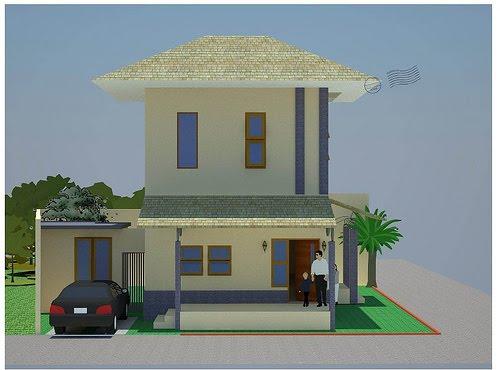 bentuk perumahan
